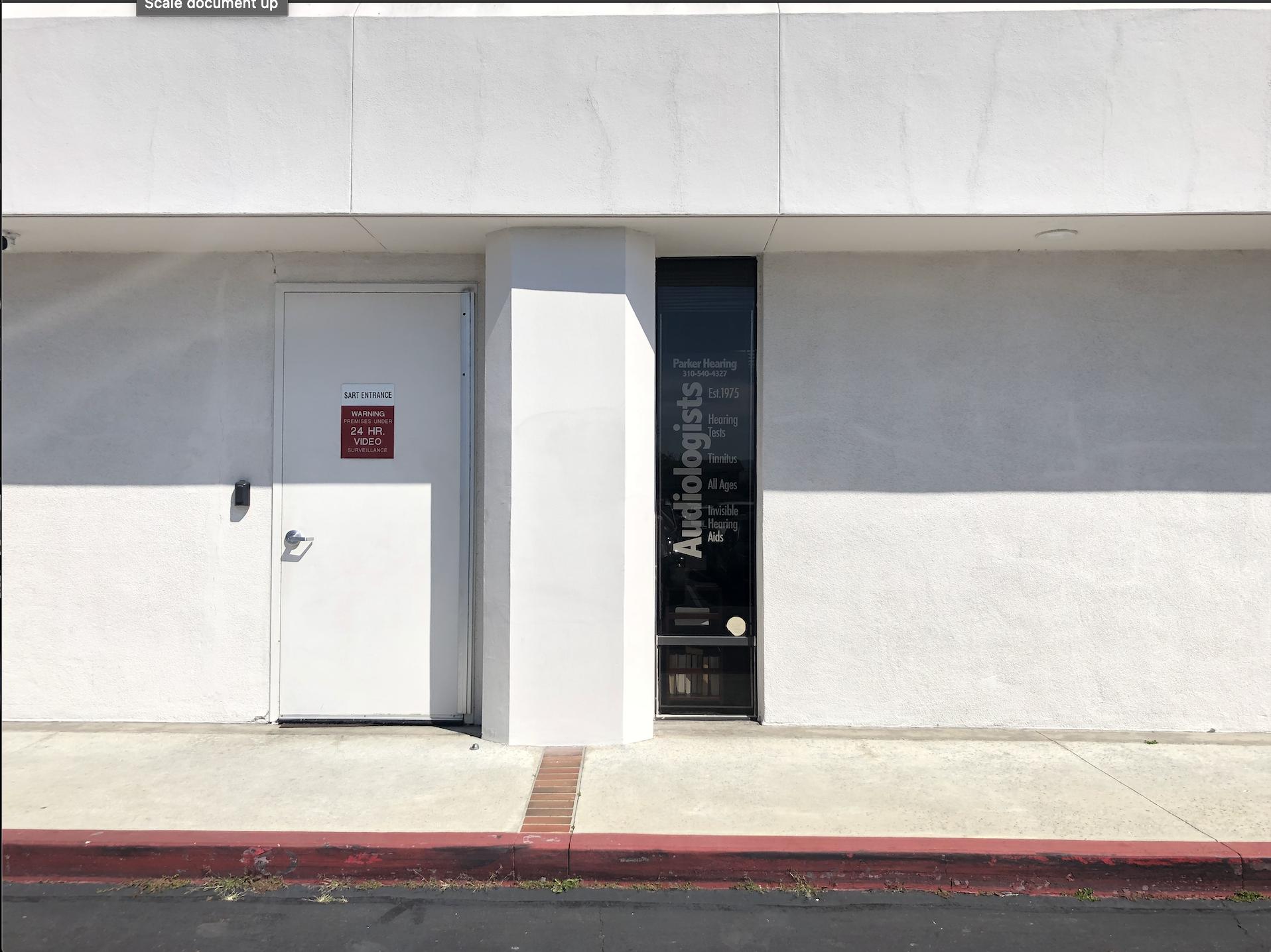 Curbside Service Door